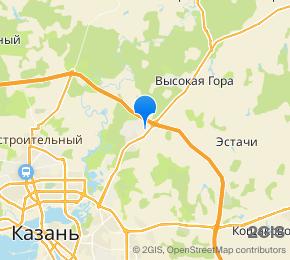 ЖК Киндери на карте