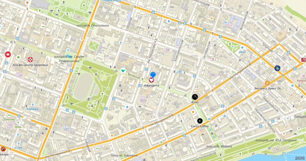 карта поиска проституток