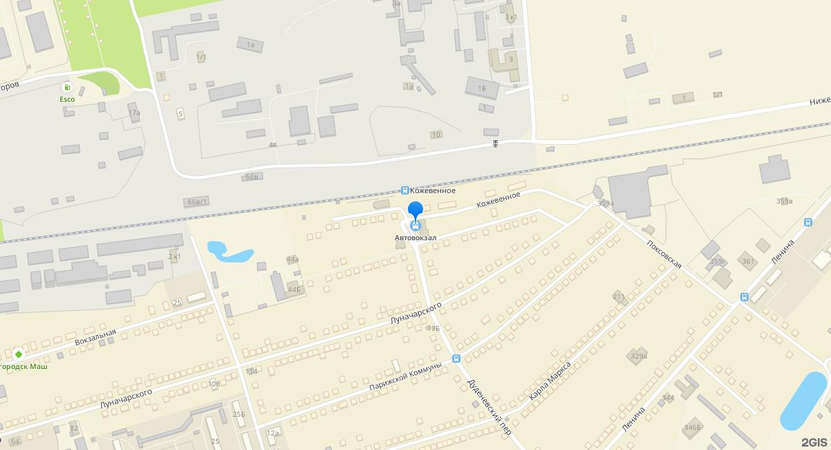 Автовокзал г. Богородска